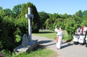 Svěcení kříže