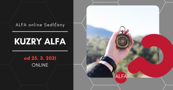 Pozvání na kurz ALFA