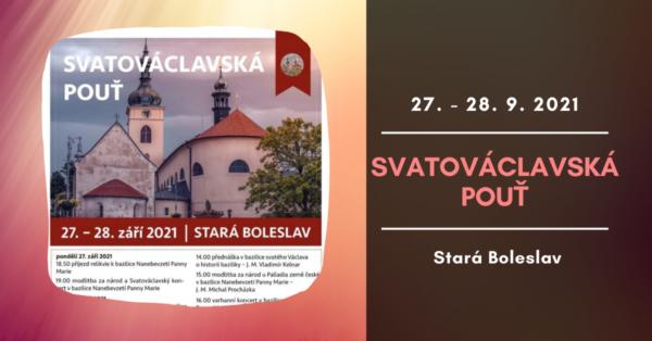 Svatováclavská pouť 2021